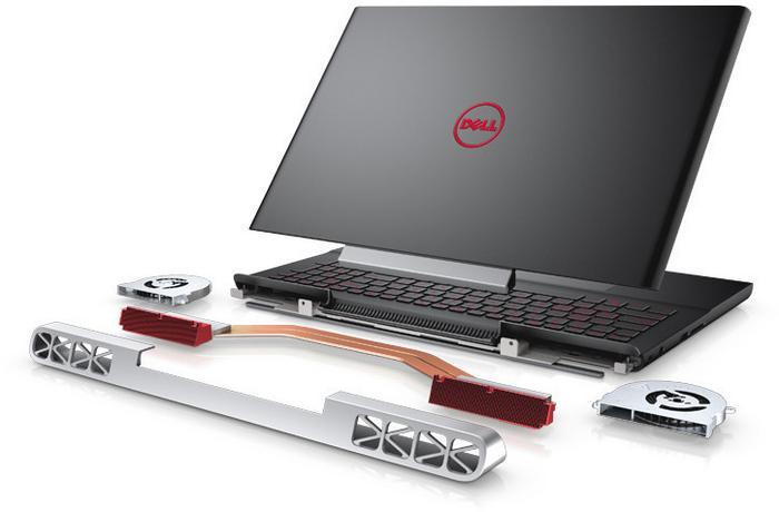 "Dell Inspiron 15 ( 7566 ) 15,6"" FHD, Core i7, 1TB HDD, 256GB SSD, 8GB RAM, GTX960M, W10Pro"