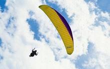Lot paralotnią - Gliwice