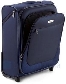 Wittchen Mała kabinowa walizka 56-3-480-9 Granatowa - granatowy 56-3-480-9