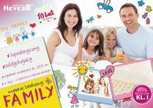 Hevea Bemondi Materac lateksowy FAMILY 150x200 FAMILY 150/200