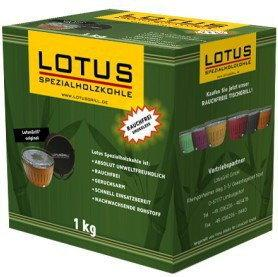 LotusGrill WĘGIEL Z BAMBUSA 1 kg wegiel1kg