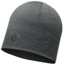 Buff Czapka z wełny Merino - Solid Thermal Grey (BH113028.937.10.00)