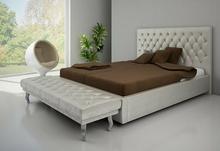 Łóżko Tapicerowane GLAMOUR z pojemnikiem na pościel Vieri Divani