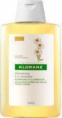 Klorane szampon do włosów na bazie wyciągu z rumianku 200ml