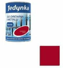 Jedynka Farba emalia alkidowa Czerwony Jasny 0,9L