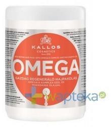 Kallos DLM SP. Z O.O. KJMN Maska do włosów z serumem omega-6 1000ml 7065038