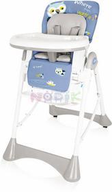 Baby Design Krzesełko do karmienia Pepe (niebieskie) ! Pepe 03 new