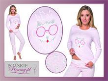 Italian Fashion Piżama damska DAISY: różowy