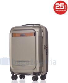 Puccini Mała kabinowa walizka STOCKHOLM PC020C 6 Złota - złoty PC020C 6