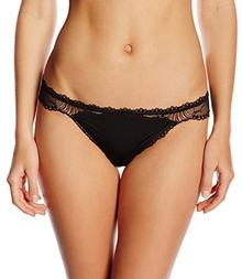 Calvin Klein Stringi underwear CK BLACK SENSUAL - THONG dla kobiet, kolor: czarny, rozmiar: 36 (rozmiar producenta: S)