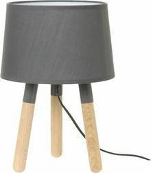 Leitmotiv Lampa stołowa Orbit dark grey, Biały by LM1039