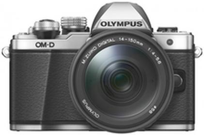 OlympusOM-D E-M10 Mark II + 14-150mm II srebrny