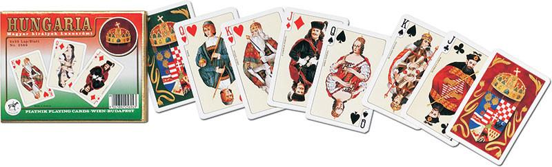 Piatnik Karty do gry Węgry 2 talie