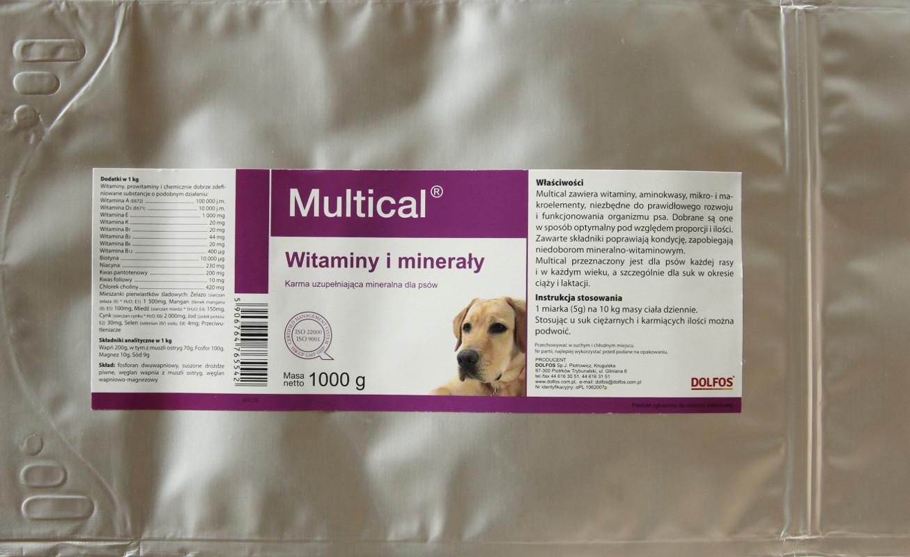 Dolfos Dolvit Multical DOG proszek 1kg