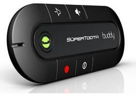 Celly Samochodowy zestaw głośnomówiący SuperTooth BUDDY Bluetooth Czarne