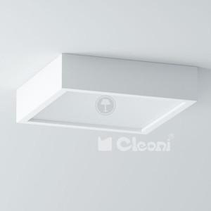 Cleoni Belona kwadrat 50 - plafon (biały mat - 117) WYPRZEDAŻ OSTATNIEJ SZTUKI 1303B2E3