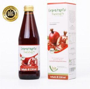 Medicura (soki aloe, noni, goji ,inne, superfoods) SOK Z GRANATU BIO 330 ml - ME