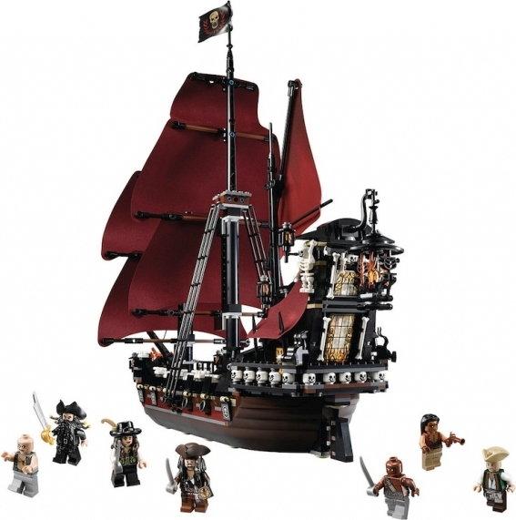 Lego Piraci Z Karaibów Zemsta Królowej Anny 4195 Opinie