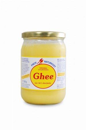 Finck Ayurveda GHEE (masło klarowane) MASŁO KLAROWANE BIO 480 g-
