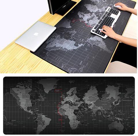 BestPrezenty.pl Podkładka pod myszkę XXL - Mapa świata