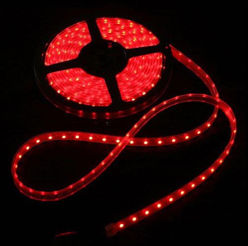 Ledsolution Taśma LED - kolor czerwony 5 m LS28