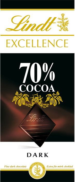 Lindt Excellence 70% Cacao 100g