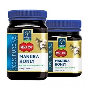 Manuka Health Limited Miód Manuka MGO 400+ Nektarowy 250 g i Miód Manuka MGO 250+ Nektarowy 500 g 400250500