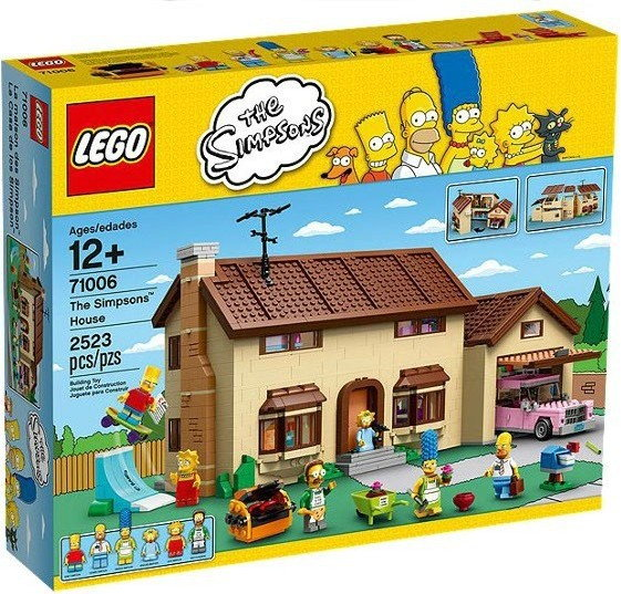 LEGO The Simpsons The Simpsons House 71006