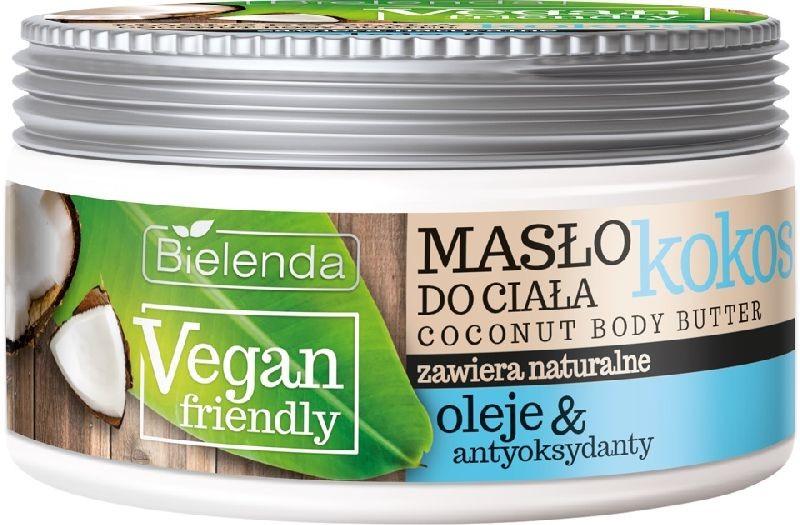Bielenda Vegan Friendly Kokos masło do ciała 250ml