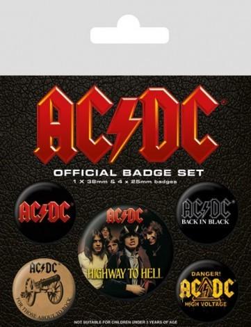 Opinie o AC/DC (Logo) - przypinki