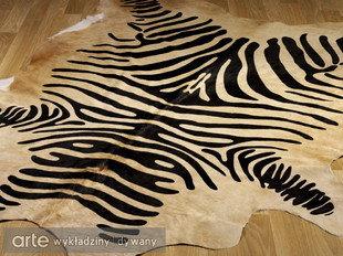 Makro Abra Dywan Skóra Rodeo Zebra Beige 180x230 Opinie