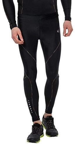 Ultrasport Rainbow długie spodnie kompresyjne, męskie, czarny, L