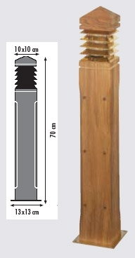 Royal Botania Lighthouse Teak - 70 cm LIG70