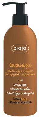 Ziaja Cupuacu Brązujące mleczko do ciała 300 ml