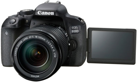 Canon EOS 800D + 18-135 IS STM (1895C003AA)