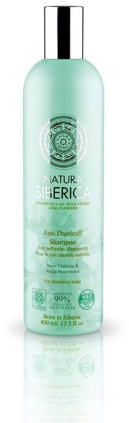 Natura Siberica szampon do włosów przeciwłupieżowy włosy każdego rodzaju 400 ml