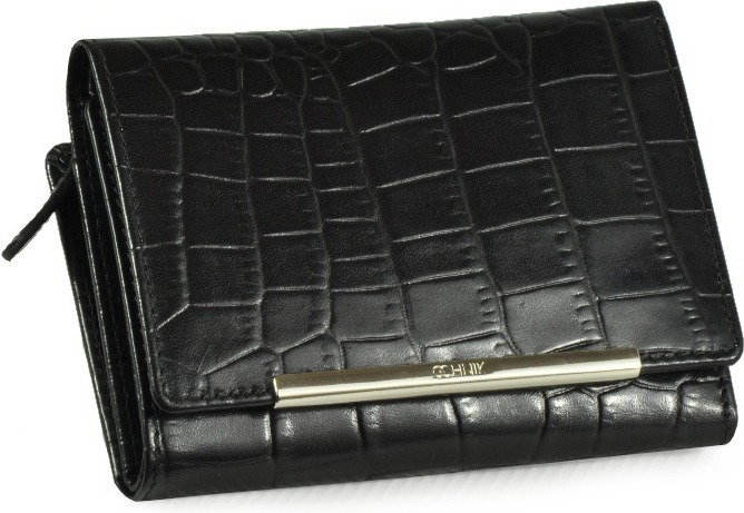 912ac672b5dae Ochnik portfel damski LX-105 99 czarny croco - czarny croco - opinie  użytkowników Opineo.pl