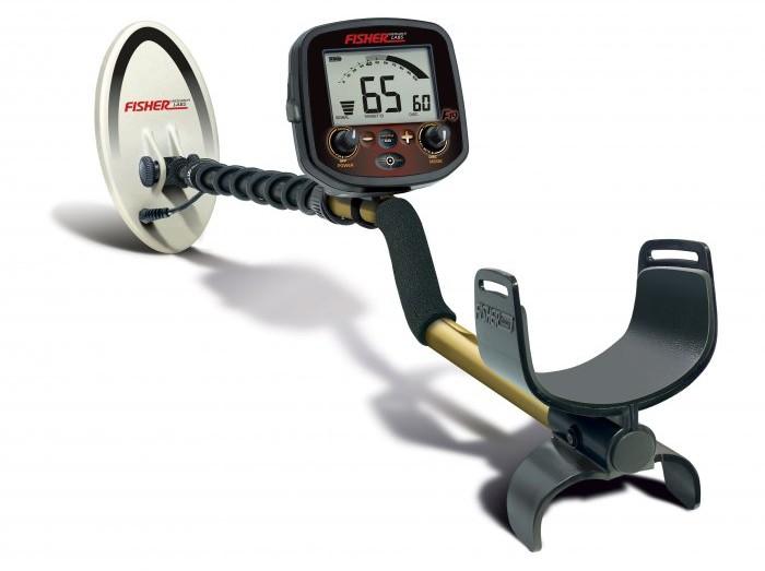 FISHER Wykrywacz metali Fisher F19 10 DD 040-030