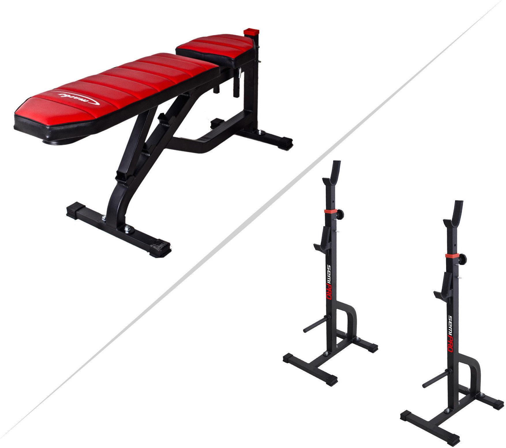 Marbo Sport MS30 | Ławka + stojaki regulowane
