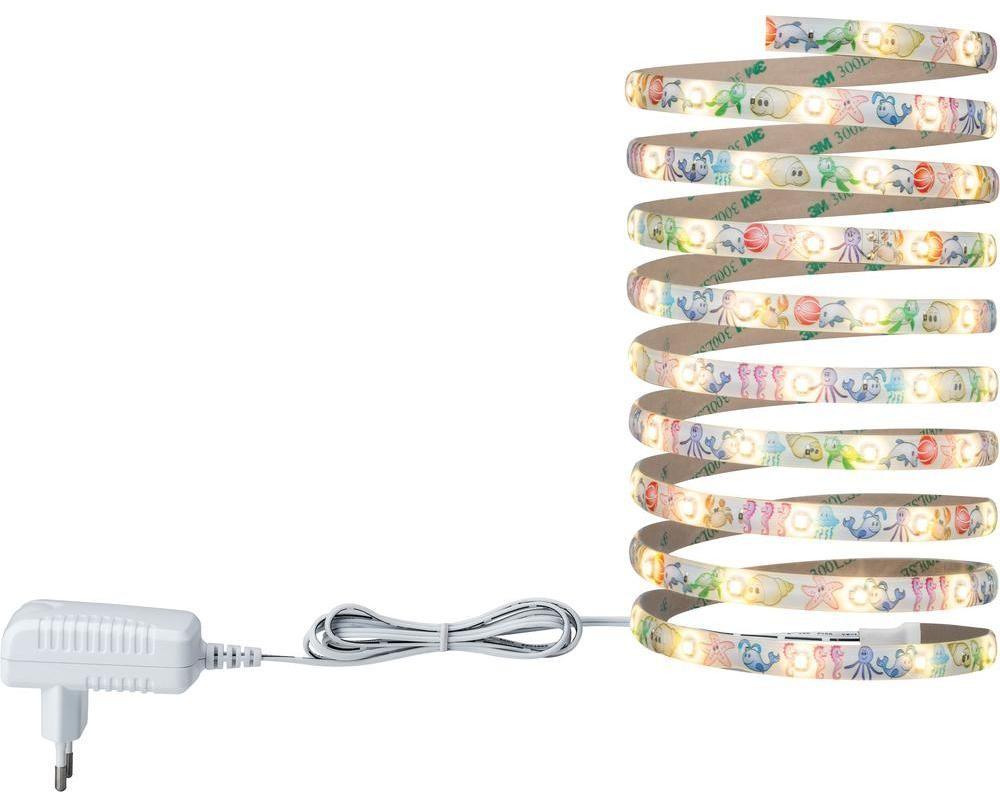 Lampa dziecięca 3643 LED wbudowany na stałe 270 lm Ciepły biały 300 cm x 1 cm x 0.3 cm Kolorowy