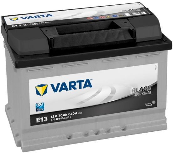 Varta Black Dynamic E13 12V 70 Ah / 640 A P+