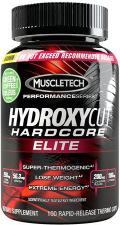 Muscletech Hydroxycut Hardcore Elite 110 kaps.