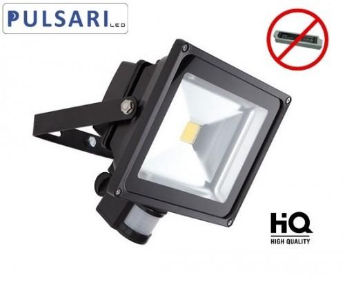 Pulsari Naświetlacz Halogen Reflektor LED 20W czujnik ruchu i zmierzchu NNL-PIR-020