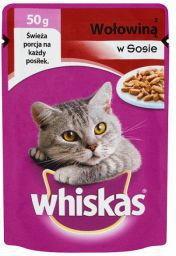 Opinie o Whiskas Mini z wołowiną w sosie 50g