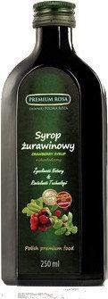Premium Rosa Syrop żurawinowy 250 ml