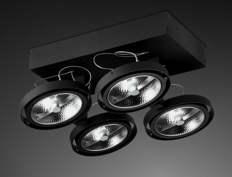 Aquaform lampy Reflektor BARES x6SL 15016-01 ALU