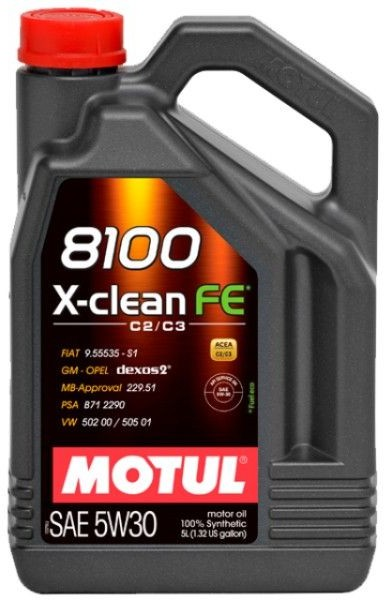 top Motul 8100 X-CLEAN FE 5W30 5L