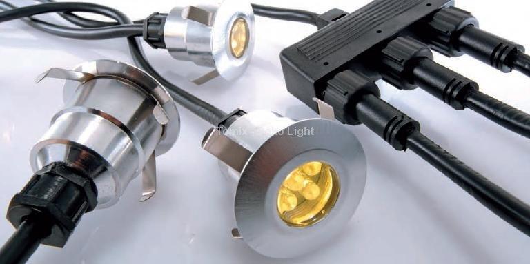 Tomix.pl Zestaw 5 lamp do montażu w podłożu Durolight LED 3000K (D948168)