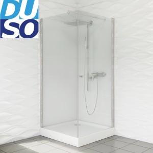 Duso Duso 90x90 profil chrom szkło transparentneDS502T