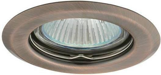Kanlux ARGUS CT-2114-AN miedź - Oczko halogenowe stałe 50W 00327